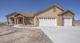 FOR SALE Beautiful Custom Home on 2.86 Acre Lot- 4-Way Ranch/Peyton-SOLD!