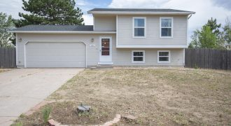 4 Bedroom-2 Bath Home for Sale-Well established neighborhood- 1846 Harley Lane, Colorado Springs 80916
