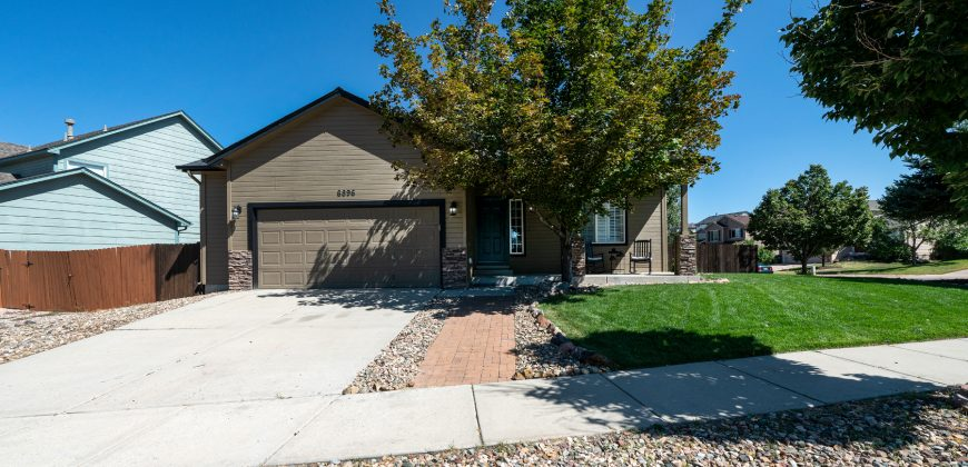 Ranch Home FOR SALE 6 Bedroom, 3 Bath, Full Basement-Wagon Trails Northeast Colorado Springs $550,000